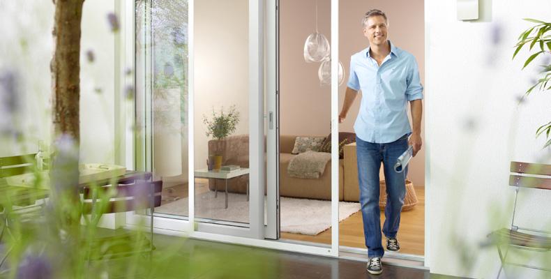 schiebt re f r unauff lligen aber effizienten insektenschutz insektenschutz f r fenster und. Black Bedroom Furniture Sets. Home Design Ideas
